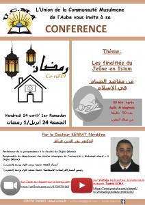 Conférence du Docteur KERRAT Norddine – 24/04/2020