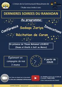 Dernières soirées Ramadan – 2020