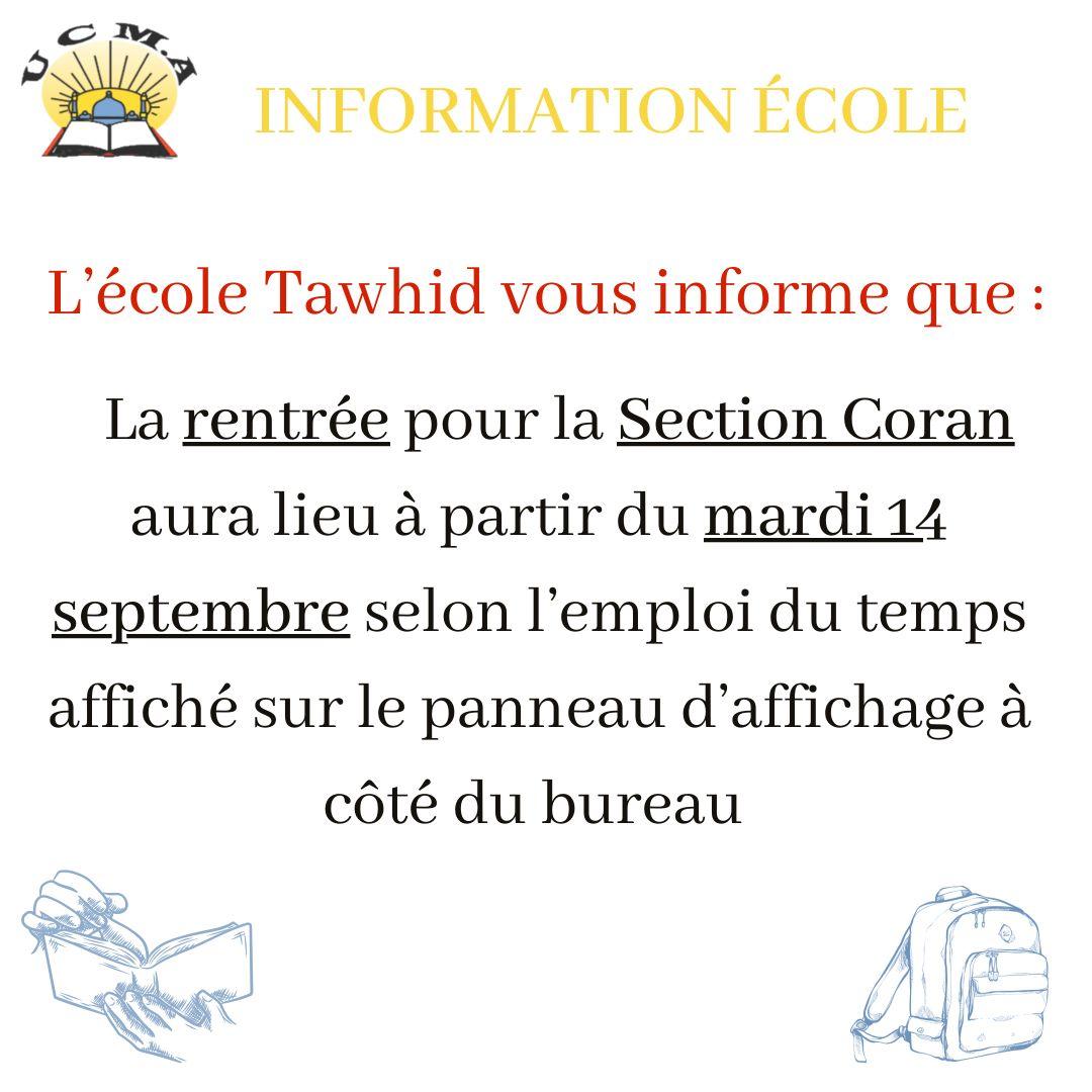 Section Coran